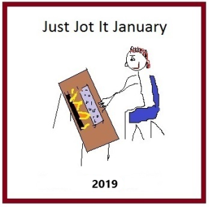 Just Jot it January day # 27–Cathartic